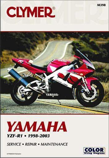 2003 Yamaha R1 Owners Manual