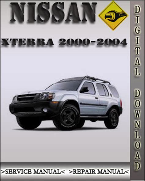 2004 Nissan Xterra Shop Repair Manuals