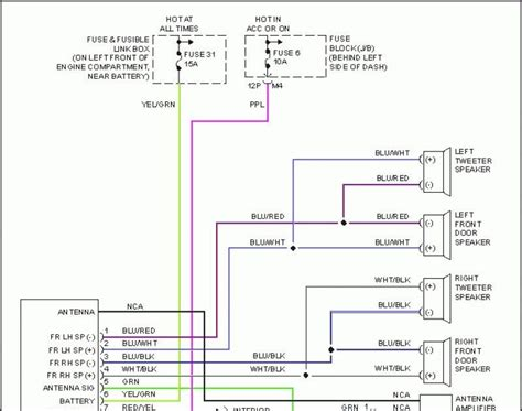 2004 Altima Factory Stereo Wiring Diagram