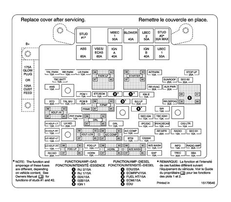 2004 Chevy 2500hd Fuse Block Diagram