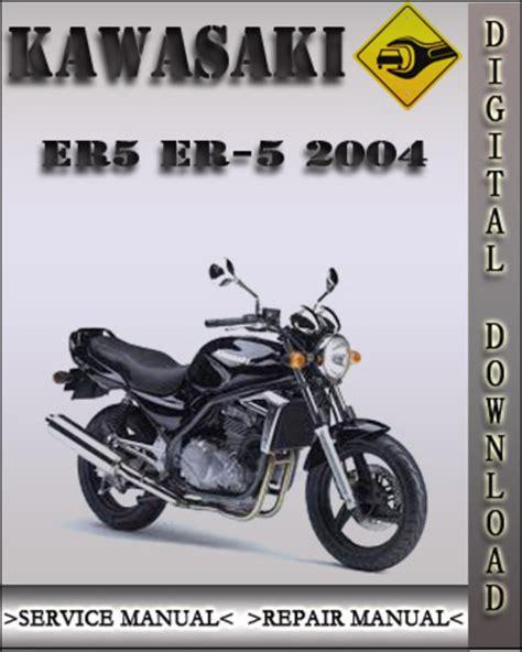 2004 Kawasaki Er5 Er 5 Factory Service Repair Manual