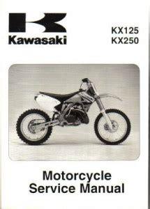 2004 Kx250 Manual