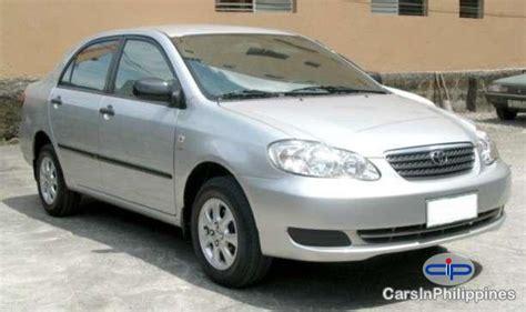 2004 Toyota Corolla Manual