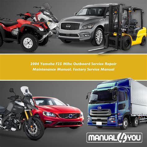 2004 Yamaha F40 Mlhc Outboard Service Repair Maintenance Manual Factory Service Manual