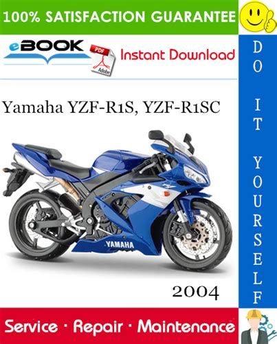 2004 Yamaha Yzf R1s Yzf R1sc Motorcycle Service Repair Manual