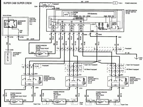 2005 F150 Window Wiring Diagram