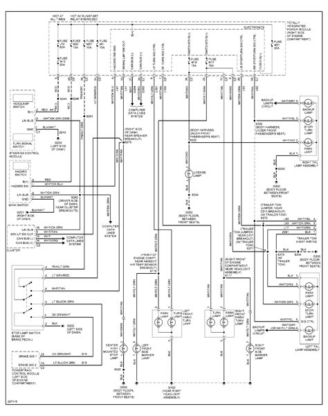 2005 Jeep Wrangler Wiring Harness Diagram