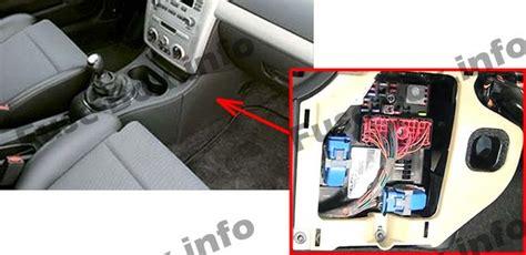 2005 Chevy Cobalt Fuse Box Location