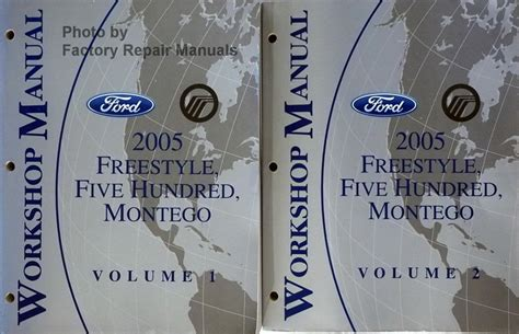 2005 Ford 500 Service Manual