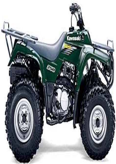 2005 Kawasaki Bayou 250 Owner Manual