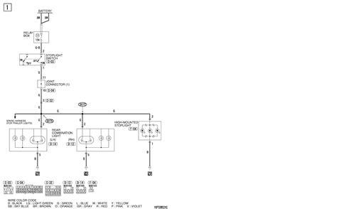 2005 Mitsubishi Endeavor Radio Wiring Diagram