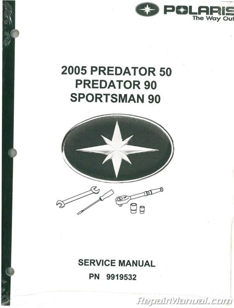 2005 Polaris Youth Factory Service Manual 9919532