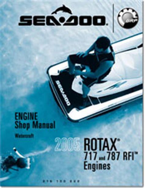 2005 Seadoo Rotax 717 787 Rfi Engine Shop Manual