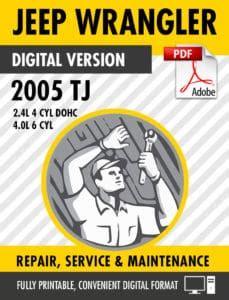 2005 Tj Factory Service Manual
