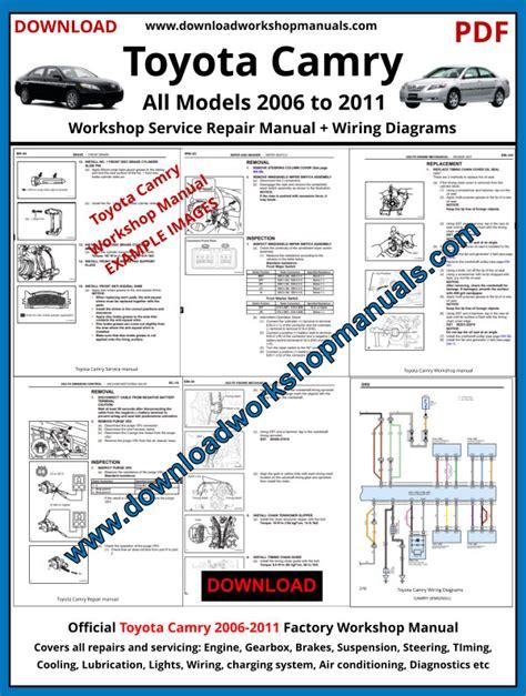2005 Toyota Camry Repair Manual