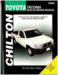 2005 Toyota Tacoma Repair Manual