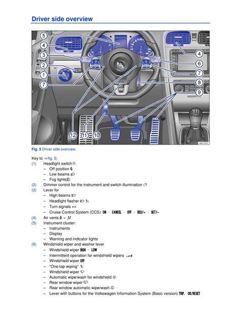 2005 Volkswagen Gti Owners Manual