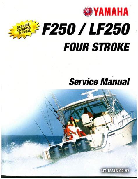 2005 Yamaha Lf250 Btxr 6p3 Outboard Service Repair Maintenance Manual Factory