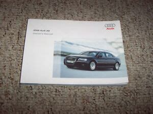2006 A8 L Quattro Owner Manual