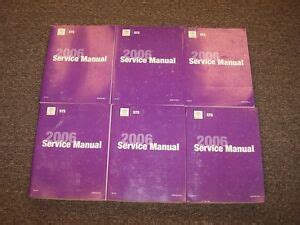 2006 Cadillac Sts Owners Manual
