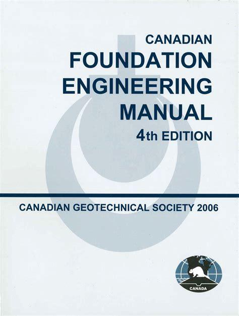2006 Canadian Foundation Engineering Manual