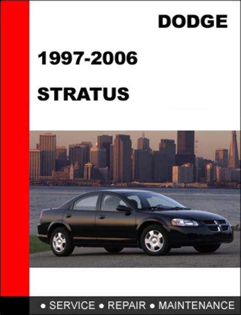 2006 Dodge Stratus Service Repair Manual