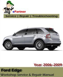 2006 Ford Edge Owner Manual
