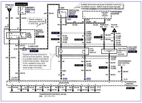 2006 Ford F 250 Fuel Pump Wiring Diagram