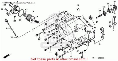 2006 Honda 350 Rancher Engine Diagram