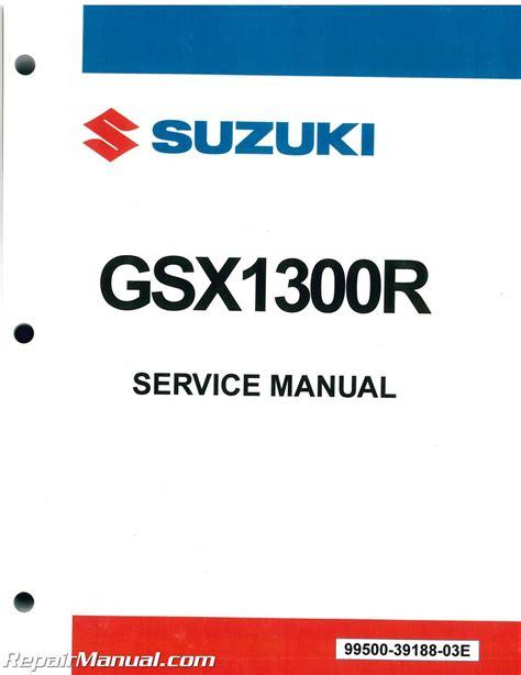 2007 Hayabusa Service Manual