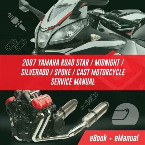 2007 Yamaha Road Star Midnight Silverado Spoke Cast Motorcycle Service Manual