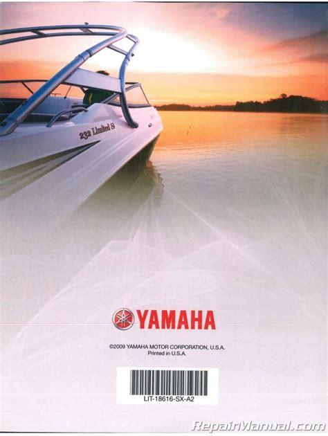 2008 2009 Yamaha Sxt1100a G Sport Boat Factory Service Manual Lit 18616 Sx A2