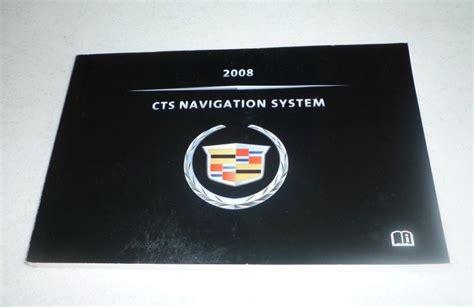 2008 Cadillac Cts Navigation System Manual