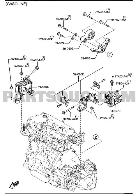 2008 Mazda Cx 9 Ignition Coil Engine Manual