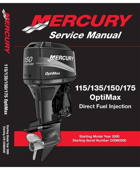 2008 Mercury Optimax 115 Manual