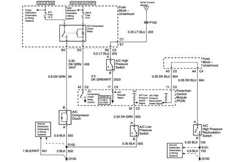 2008 Silverado A C Compressor Wiring Diagram