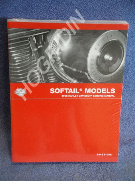 2008 Softail Owners Manual