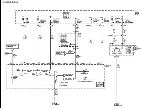 2008 Trailblazer Headlight Relay Wiring Diagram
