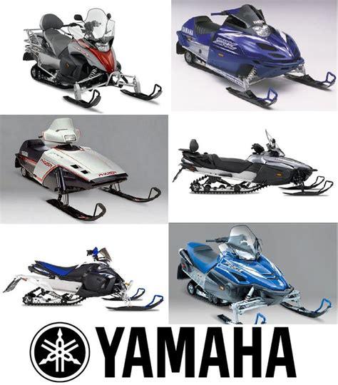 2008 Yamaha Rs Vector Gt 40th Anniversary Snowmobile Service Manual
