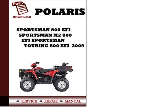 2009 Polaris 800 Touring Owners Manual