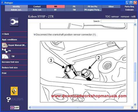 2009 Renault Kaleos Service And Repair Manual