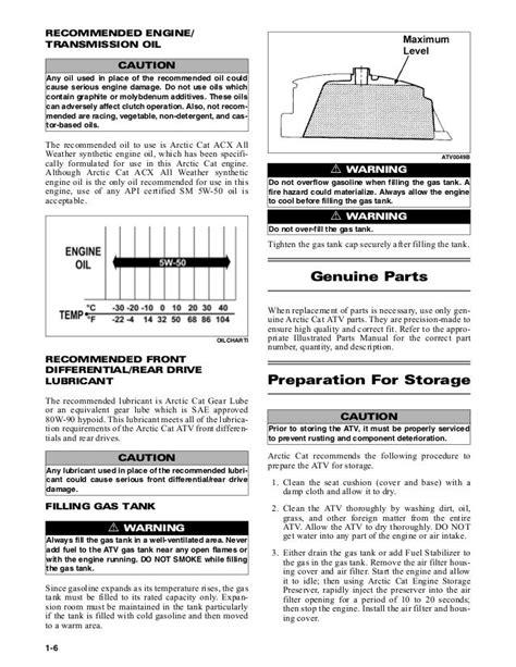 2010 Arctic Cat 700 Trv Service Manual