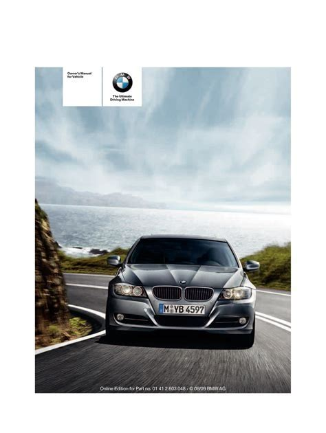 2010 Bmw 335i Xdrive Coupe With Idrive Owners Manual