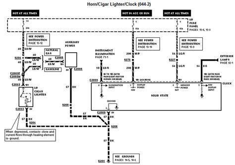 2010 Crown Victoria Wiring Diagram Manual