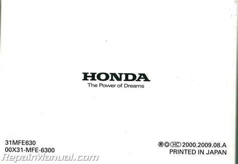 2010 Honda Shadow Phantom Service Manual