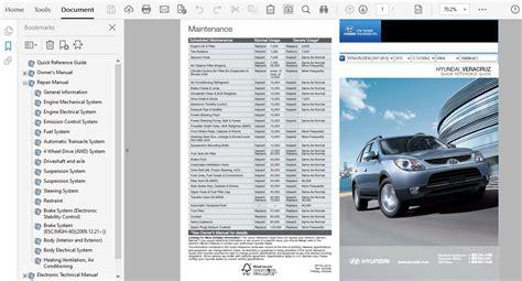 2010 Hyundai Veracruz Service Repair Manual
