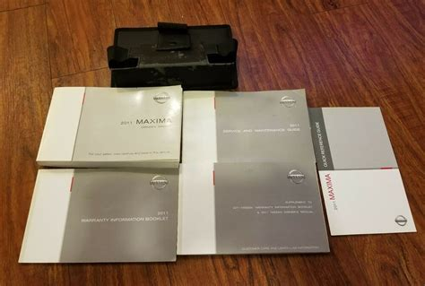 2011 Maxima Owners Manual