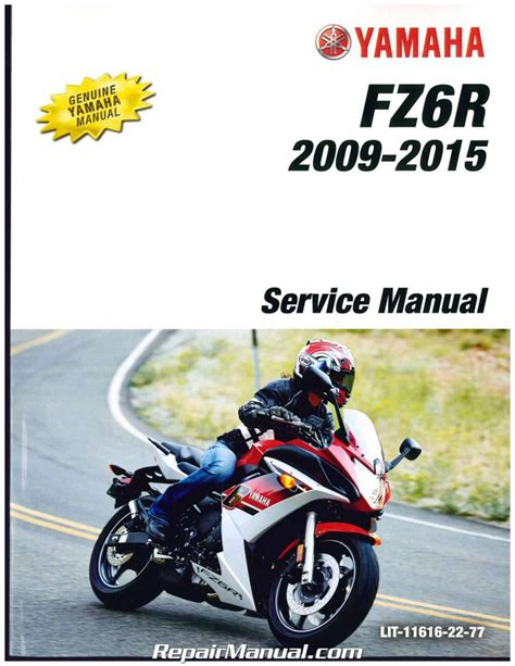 2011 Yamaha Fz6r Service Manual