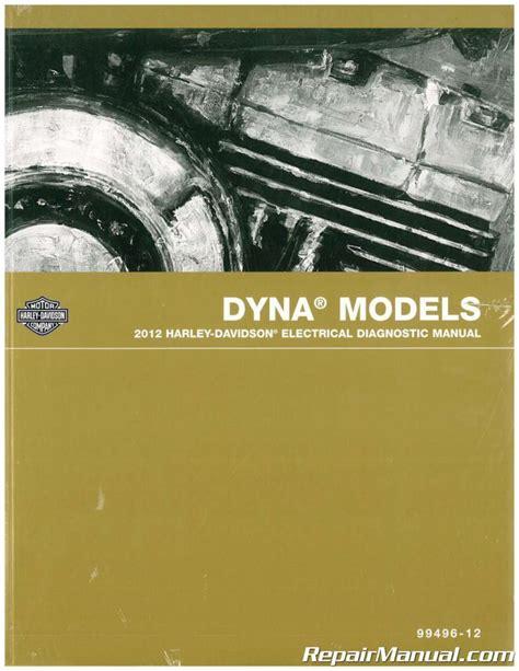 2012 Harley Davidson Fxr Dyna Electrical Diagnostic Manual 99496 12