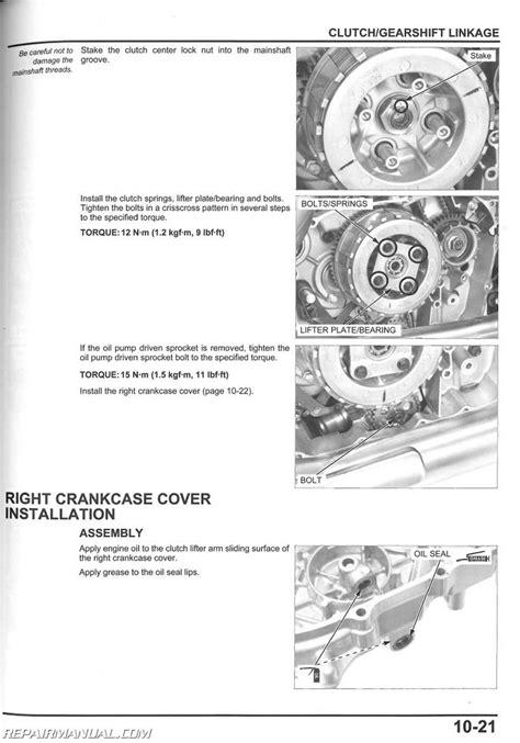 2012 Honda Vt750 Shadow Aero Service Manual